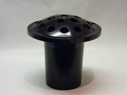 Black Plastic Flower Holder