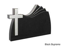 DA303 Plate with White Cross