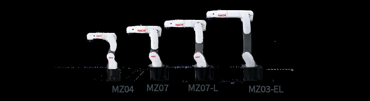 Nachi Robots - MZ Range