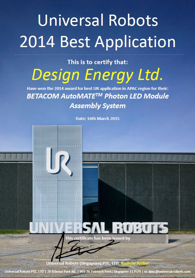 2014-universal-robot-best-application