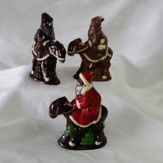 Santa on a Donkey