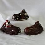 Santa in a Car