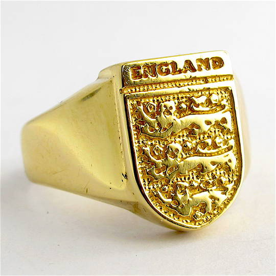 Men's 9ct yellow gold British Hallmarked signet ring