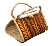 Averill Waters's - woven bag-793