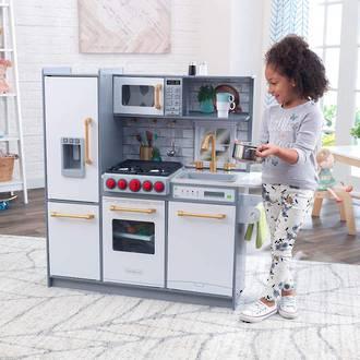 KidKraft Uptown Elite White Play Kitchen - FREE DELIVERY