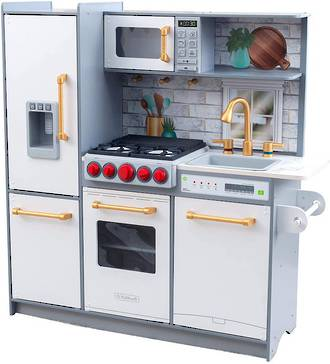 KidKraft Uptown Elite White Play Kitchen - FREE DELIVERY