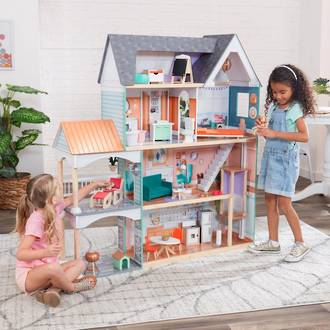 KidKraft Dahlia Mansion Dollhouse - FREE DELIVERY