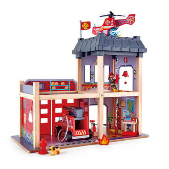 Hape City Fire Station - FREE DELIVERY