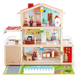 Hape Doll Family Mansion - FREE DELIVERY