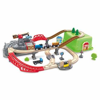 Hape Railway Bucket Builder Set - FREE DELIVERY