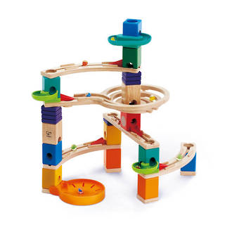 Hape Cliffhanger Quadrilla Marble Run - FREE DELIVERY