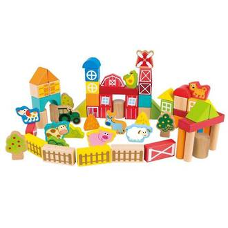 Hape On the Farm Building Blocks
