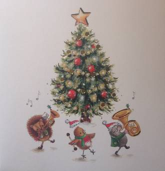 Xmas Gift Card - Have a lovely Christmas