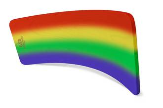 Kinderfeets KinderBoard Rainbow - FREE DELIVERY - Sent direct from NZ supplier in 1 - 2 days time