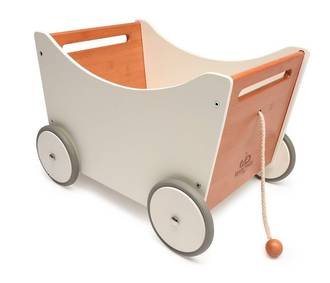 Kinderfeets Toy Box, 2 in 1 Toy Storage & Walker  -  FREE DELIVERY - Ships direct from NZ supplier in 2 days time