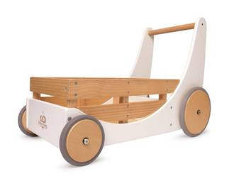 Kinderfeets Cargo Baby Walker white - FREE DELIVERY