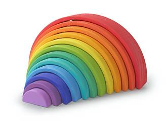 Kinderfeets Rainbow Arches Large - FREE NZ Delivery