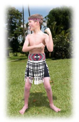 Maori Boy Costume medium