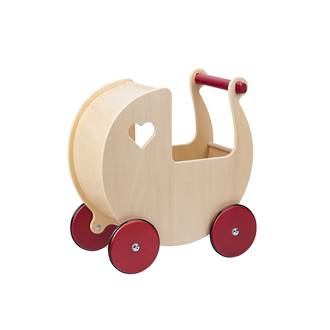 Moover Doll's Pram Kindergarten Natural - Free Delivery