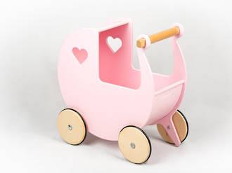 Moover Dolls Pram Pink - Free Delivery