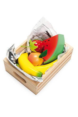 Le Toy Van Smoothie Fruits Market Crate