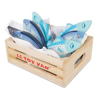 Le Toy Van Fresh Fish Market Crate - New version