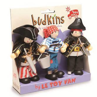 Le Toy Van Budkins Pirates