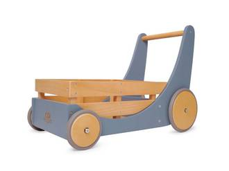 Kinderfeets Cargo Baby Walker Slate Blue - FREE DELIVERY - Ships direct from our NZ supplier in 1 - 2 days