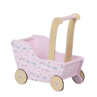 Moover Line Pram Pink Unicorn - Dispatched from NZ supplier in 1 - 2 days time