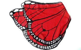 Butterfly Wings red
