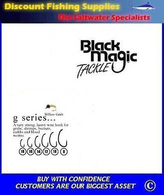 "Black Magic ""G"" Series Fly  Hooks"