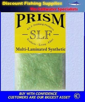 SLF Prism Dubbing - Caddis Green