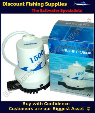 Absolute Marine Bilge Pump - 1500 GPH