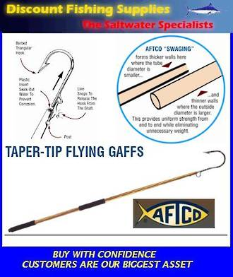 Aftco Taper Tip Flying Gaff 5""