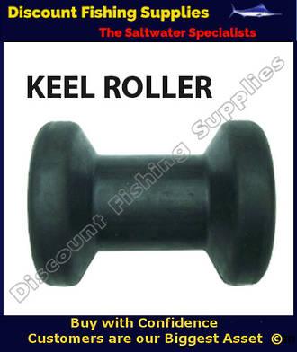 AM - Keel Roller - Black - 100mm x 75mm