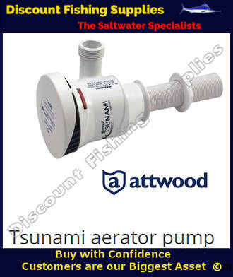 Attwood Tsunami Thru-Hull Aerator - 800GPH