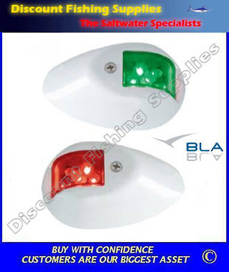 BLA Navigation Lights - Side Mount LED - White