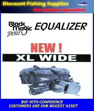 Black Magic EQUALIZER Gimbal and Harness (XL WIDE Size)