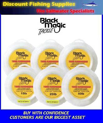 Black Magic Fluorocarbon Leader