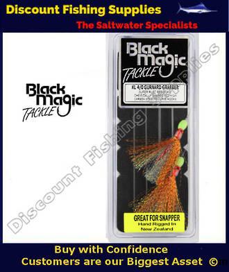 Black Magic Flasher KL4/0 Gurnard Grabber (Great for Snapper)