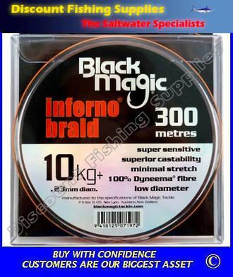 Black Magic Inferno Braid 10kg X 300m