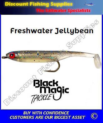 Black Magic Freshwater Jellybean Lure - Dark Smelt