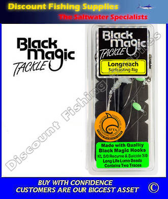 Black Magic Longreach Surfcasting Rig KL5/0