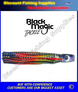 Black Magic Rainbow Rocker Marlin - Tuna Lure