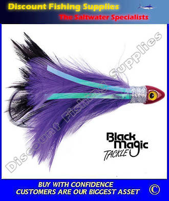 Black Magic Saltwater Chicken - Black Purple