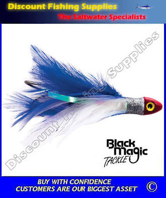 Black Magic Saltwater Chicken - Blue White