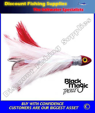 Black Magic Saltwater Chicken - Red White