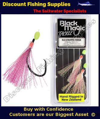 Black Magic KL5/0 Snapper terror