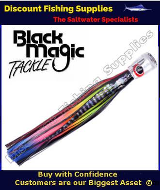 Black Magic SOFT PUSHER RANGE  - Marlin / Tuna Lure - Hot Rocker