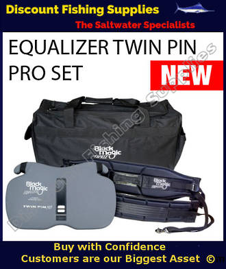 Black Magic Twin Pin Pro EQUALIZER Gimbal and Harness (MIXED SET)